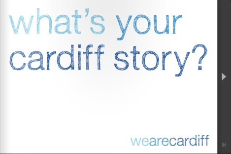 we are cardiff story booklet