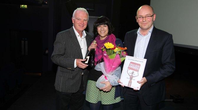 Best Blog at the Wales Blog Awards!