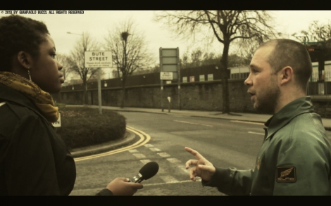 Gavin Porter Giving a tour of Butetown-by Angelo Gianpaolo Bucci
