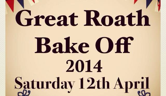 You want cake? We got cake! The Great Roath Bake Off, Saturday 12 April 2014