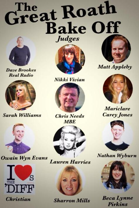 Great Roath Bake Off 2014 - judges