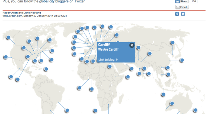 We Are Cardiff featured on Guardian Cities