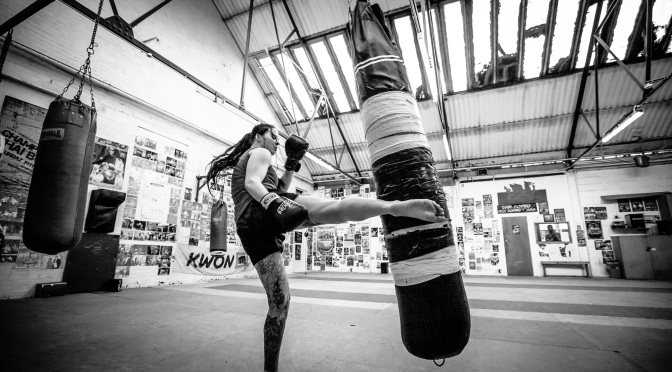 """I train and fight a style called Muay Thai. It is known as the art of eight limbs"" – Tanya"