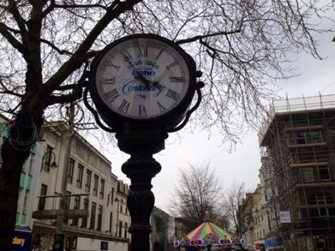 south wales echo clock by jeremy rees