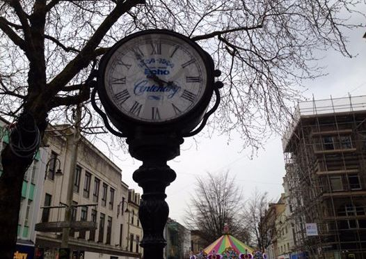 100 days in Cardiff – the Queen Street Clock