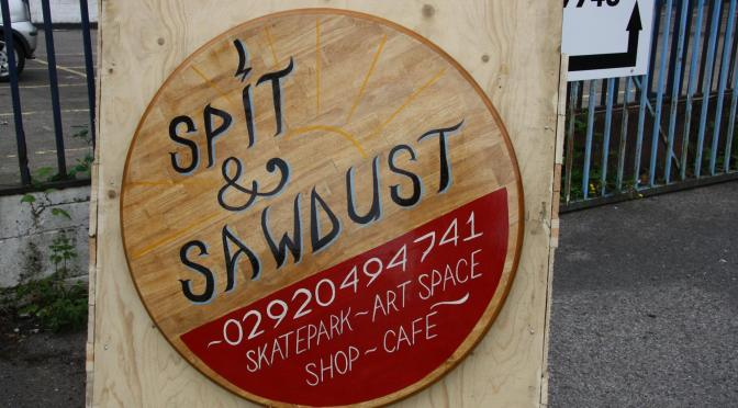 Spit and Sawdust opening party – Cardiff skate park, cafe, shop and art space