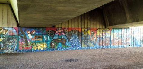 sea lock mural