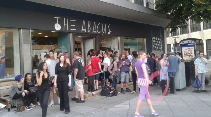 The Abacus opening party: Solve et Coagula