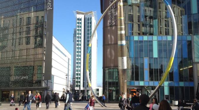 100 days in Cardiff – the new buildings of Cardiff