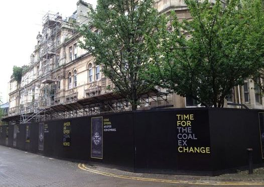 100 days in Cardiff – the Coal Exchange