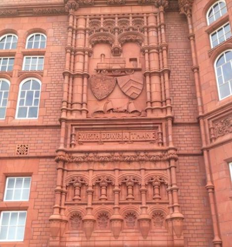 Wall Carving on The Pierhead Building
