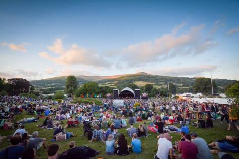 Green Man Festival site