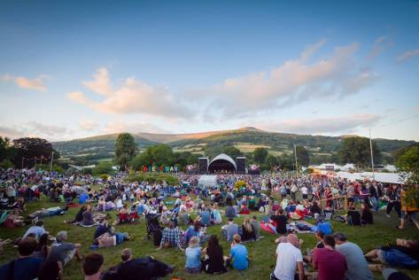 Green Man Festival site