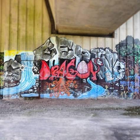 Cardiff, July 2014 by Alex Feeney