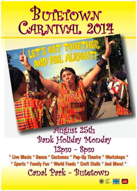 butetown carnival 2014