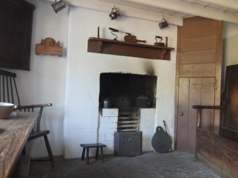 The 1805 interior