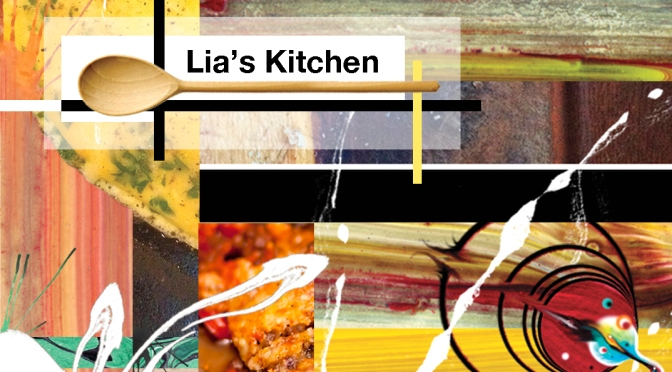 Invite to Lia's Kitchen – a 'not-so-Greece food affair', Saturday 27 September
