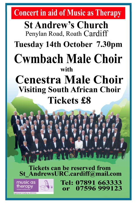 Male Voice Choirs Music as therapy 2014