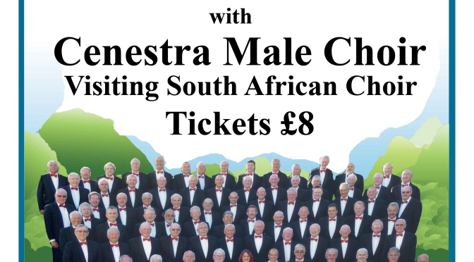 Male Voice Choirs at St Andrew's, 14 October 2014 – in aid of Music As Therapy