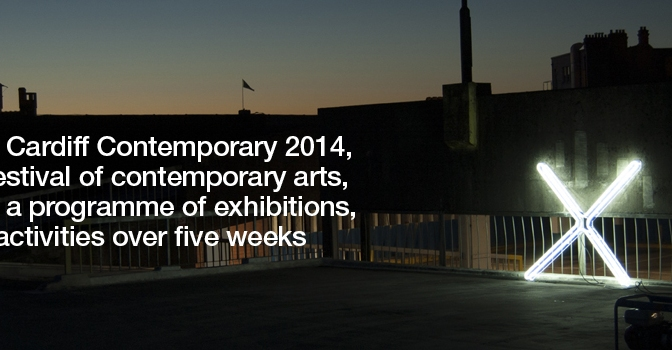 Autumn art in the city: Cardiff Contemporary, 3/10-9/11 2014