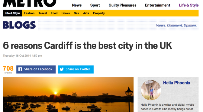 Six reasons why Cardiff is the best city in the UK