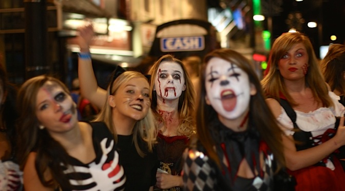 People on the streets of Cardiff for Halloween 2014 – photo blog