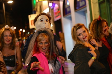 Halloween night out