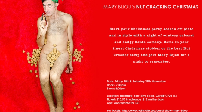 Celebrate the festive season with Mary Bijou's Nut Cracking Christmas!