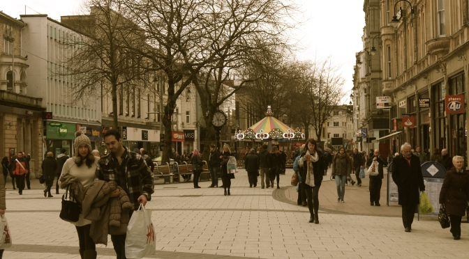 Cardiff A-Z: Q is for Queen Street