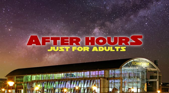 After hours at Techniquest … featuring NoFit State Circus!