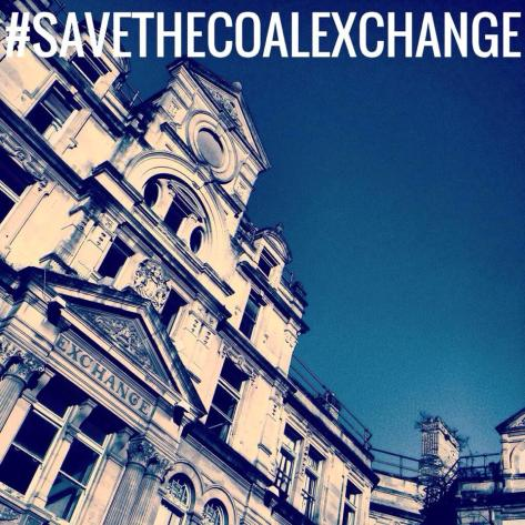 save the coal exchange