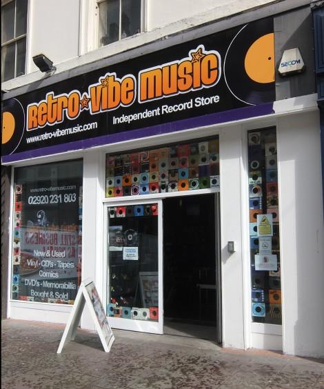 Retro-vibe music
