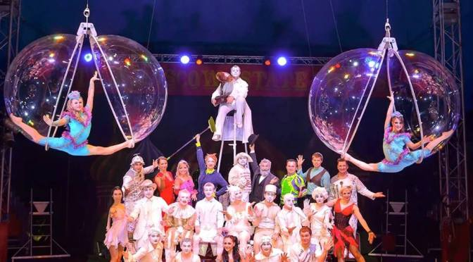 The Moscow State Circus are in town with Zhelaniy … get 2 for 1 tickets!