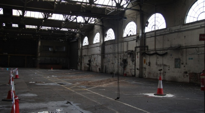 Grangetown's historic 'tramsheds' – an inside look