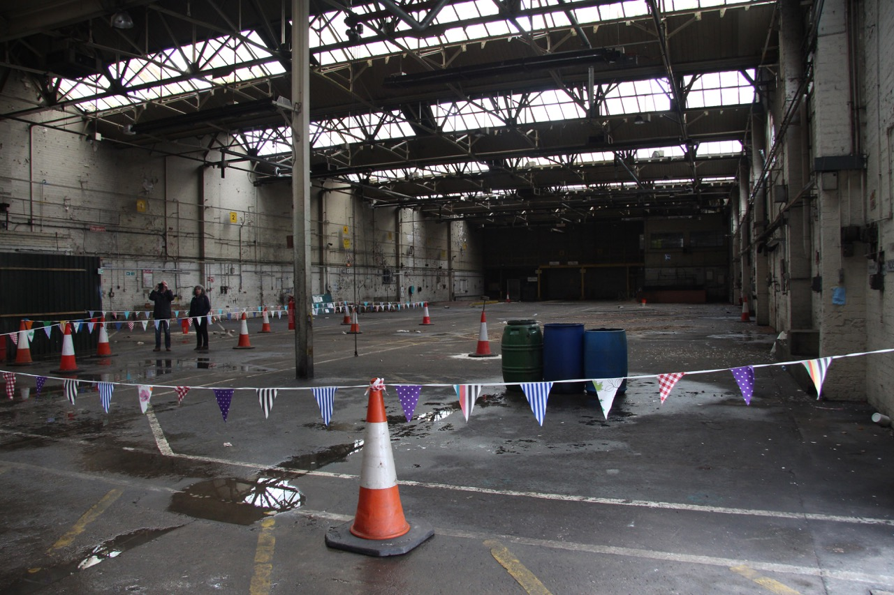 Grangetown S Historic Tramsheds An Inside Look We