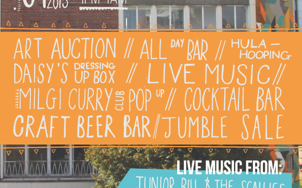 Art auction fundraiser and all-day festival for the Abacus, Saturday 9 May 2015