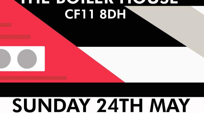 LACED 2 at the Boiler House – this Sunday!