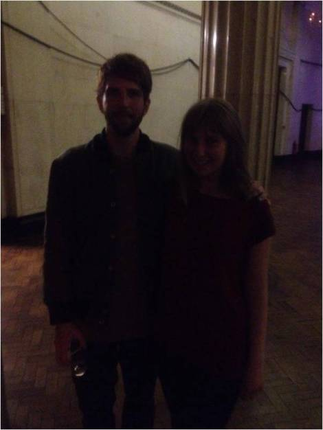 Owen Pallett and Ellie Philpotts