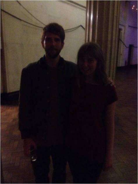 Owen Pallett and Ellie Philpotts