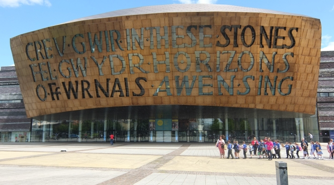 W is for the Wales Millennium Centre