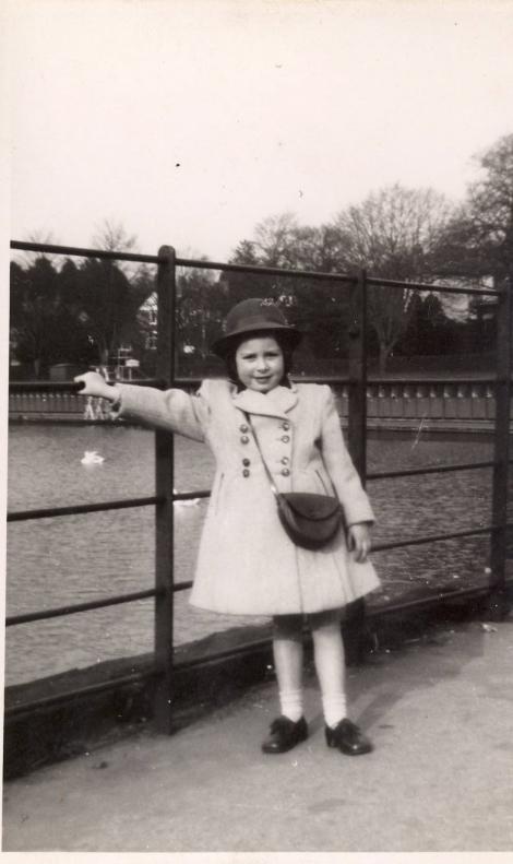 Jenny Criddle - childhood