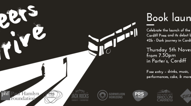 Launch party details unveiled for 'The 42b', We Are Cardiff Press debut book!