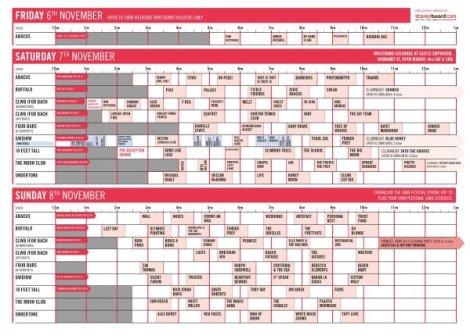 swan schedule 2015