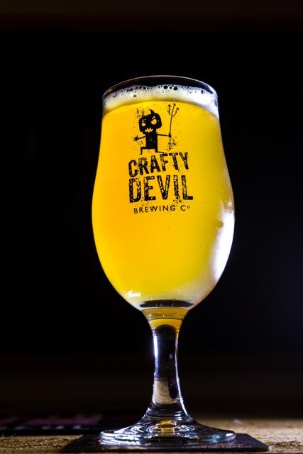 Cardiff, United Kingdom, November 26 2015. Crafty Devil Beer