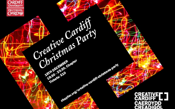Creative Cardiff: a new network for the city's creative economy…and a Christmas party!