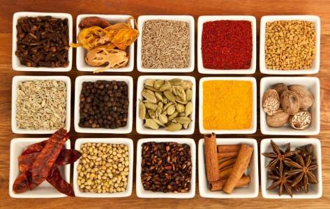 curry and spices