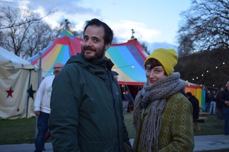 Gareth and Lauren, Machynlleth_Comedy_Fest