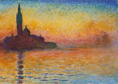 Monet's San Giorgio Maggiore at Dusk