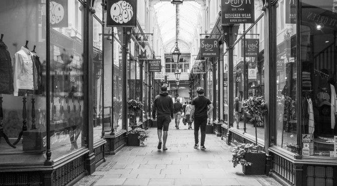 Walking Cardiff's arcades