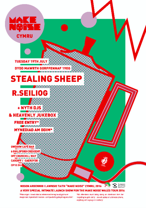 make_noise_wales_poster